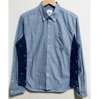 uniform experiment - 1052 ユニフォームエクスペリメント スター切替 長袖シャツ 2