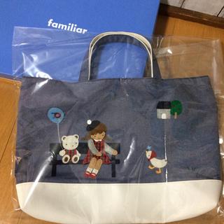 familiar - ファミリア 70周年 限定 デニムバッグ familiar トートバッグ 神戸