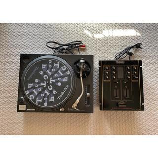 パナソニック(Panasonic)のTechnics SL-1200MK3 + MIXER SH-DJ1200(ターンテーブル)