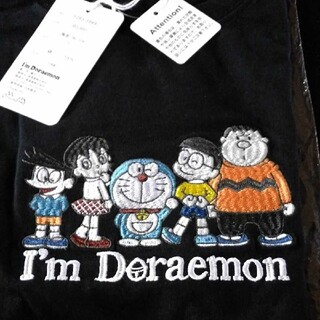 ショウガクカン(小学館)のI'm Doraemon ドラえもん刺繍ポイントTシャツ(Tシャツ/カットソー(半袖/袖なし))