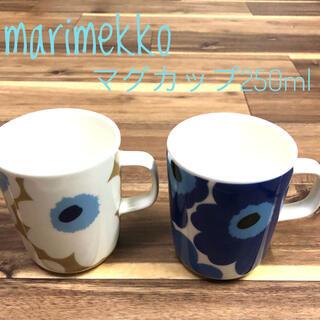 marimekko - 【新品】marimekkoマリメッコ マグカップ250ml ウニッコ 2コセット