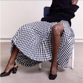 トーガ(TOGA)のToga h&m プリーツスカート(ひざ丈スカート)