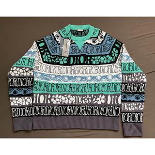 クリスチャンディオール(Christian Dior)のDIOR ×SHAWN  STTUSY セーター(ニット/セーター)