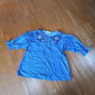 ロデオクラウンズワイドボウル(RODEO CROWNS WIDE BOWL)のロデオクラウンズ 刺繍ブラウス(シャツ/ブラウス(長袖/七分))