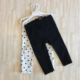 エイチアンドエム(H&M)の新品未使用タグ付き♡ H&M ベビー ズボン 80サイズ(パンツ)