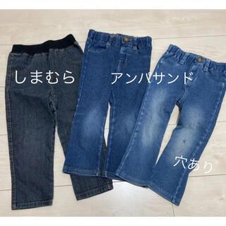 アンパサンド(ampersand)の女の子 ジーパン レギンス まとめ売り 90(パンツ/スパッツ)