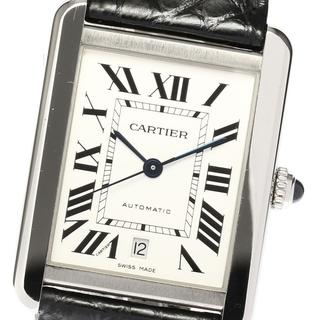 カルティエ(Cartier)の☆美品 カルティエ タンクソロXL CRW5200027 メンズ 【中古】(腕時計(アナログ))