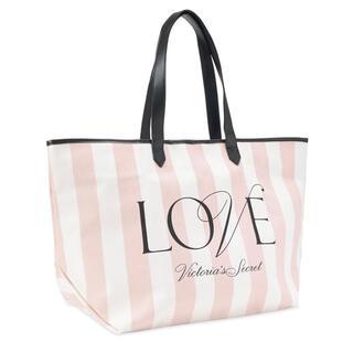 ヴィクトリアズシークレット(Victoria's Secret)のUSED 1回使用美品💙VS ブランドカラーのトートバッグ(トートバッグ)