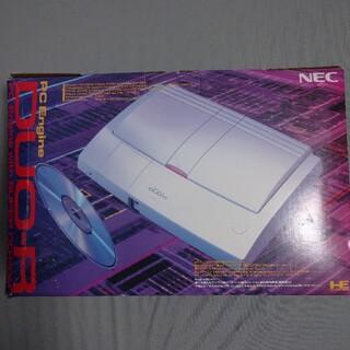エヌイーシー(NEC)のPCエンジンDUO-R 本体セット箱付き(家庭用ゲーム機本体)