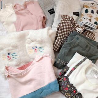 フタフタ(futafuta)の子供服まとめ売り‼️10点 70〜80サイズ(Tシャツ)