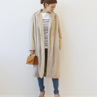 ドゥーズィエムクラス(DEUXIEME CLASSE)のドゥーズィエムクラス de ball fur コート(毛皮/ファーコート)