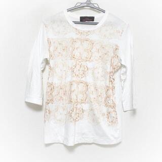 コムデギャルソン(COMME des GARCONS)のトリココムデギャルソン 七分袖Tシャツ S -(Tシャツ(長袖/七分))