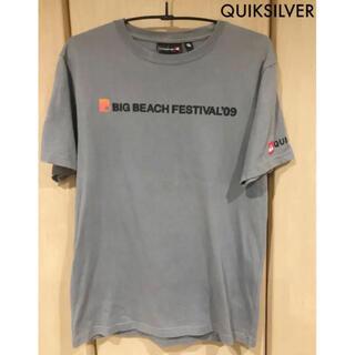 QUIKSILVER - BIG BEACH FESTIVAL'09 Tシャツ