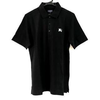 バーバリー(BURBERRY)のバーバリーゴルフ 半袖ポロシャツ 3 L - 黒(ポロシャツ)