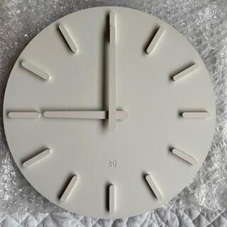 プラスマイナスゼロ(±0)のプラマイゼロ プラマイ0 ウォールクロック ZZC-S010(W) 掛時計(掛時計/柱時計)