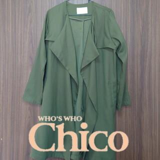 フーズフーチコ(who's who Chico)のWHO'S WHO CHICO フーズフーチコトレンチコート(トレンチコート)