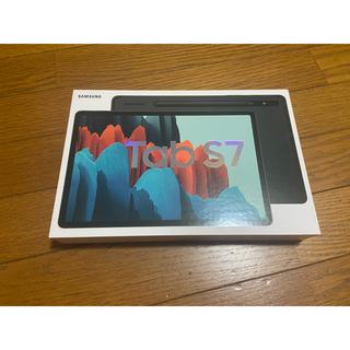 サムスン(SAMSUNG)の【新品未使用】Galaxy Tab S7 128GB WIFI ブラック(タブレット)