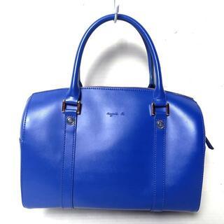 アニエスベー(agnes b.)のアニエスベー ハンドバッグ - ブルー(ハンドバッグ)