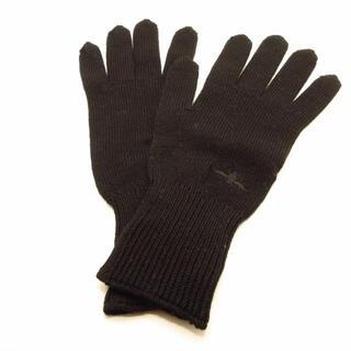 ディオールオム(DIOR HOMME)のディオールオム 手袋 メンズ美品  黒(手袋)