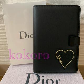 ディオール(Dior)のディオール 手帳 スケジュール帳 メモ帳 ノベルティ 非売品 ブラック 新品(ノート/メモ帳/ふせん)
