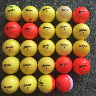 Srixon - SRIXON スリクソン ロストボール  カラー 24球
