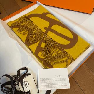 エルメス(Hermes)の今週購入❣️タグ付き正規エルメス 2021秋冬コレクションマフラー カシミア(マフラー/ショール)