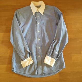 ユニクロ(UNIQLO)の切り替えシャツ 古着 デニム(シャツ)