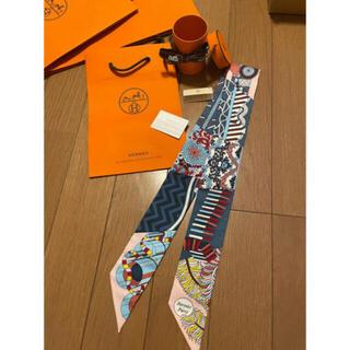 エルメス(Hermes)の新品タグ付き❣️エルメスエルメス21コレクション シルクツイリー≪杖傘と決闘≫(バンダナ/スカーフ)