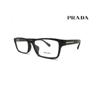 PRADA - 新品正規品 プラダ VPR01S-F 1AB-101 メガネ レンズ交換可能