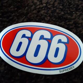 シュプリーム(Supreme)のシュプリーム 666ステッカー(その他)
