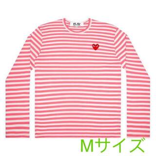 コムデギャルソン(COMME des GARCONS)の【即発】COMME des GARCONS レディース ボーダーロングTシャツ(Tシャツ(長袖/七分))