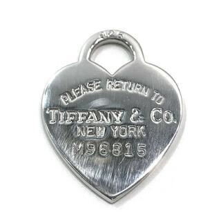ティファニー(Tiffany & Co.)のティファニー ペンダントトップ シルバー トップのみ(ネックレス)