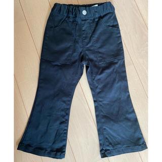 スキップランド(Skip Land)の【スキップランド】100サイズ フレア黒パンツ 男女兼用(パンツ/スパッツ)