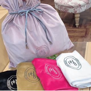 ピンクハウス(PINK HOUSE)のピンクハウス♡ベルベット地巾着バック定価8,140円(トートバッグ)