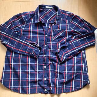 ショコラフィネローブ(chocol raffine robe)のショコラフィネローブ チェックシャツ(シャツ/ブラウス(長袖/七分))