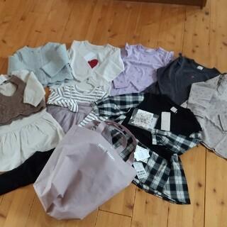 プティマイン(petit main)の新品 petit main 女の子まとめ売り100(Tシャツ/カットソー)