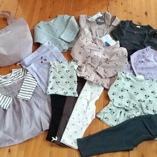 プティマイン(petit main)の新品 petit main 女の子まとめ売り90(Tシャツ/カットソー)