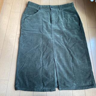 GU - GUコーデュロイタイトスカート XL