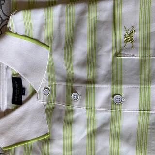 バーバリー(BURBERRY)の新品未使用バーバリー長袖ポロシャツMサイズ(ポロシャツ)