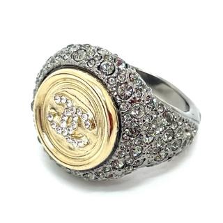 CHANEL - シャネル CC ココマーク リング・指輪 シルバー×ゴールド 10号