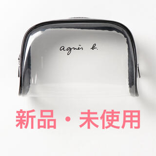 agnes b. - agnes b. ロゴクリアポーチ