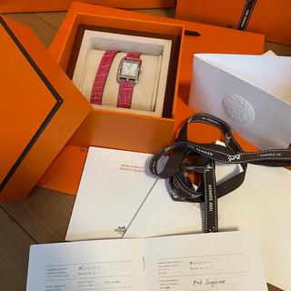 エルメス(Hermes)の今週購入❣️新品❣️正規エルメス腕時計 ケープコッド 23mm(腕時計)