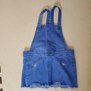ザラキッズ(ZARA KIDS)のZARA ジャンパースカート 80cm(ワンピース)