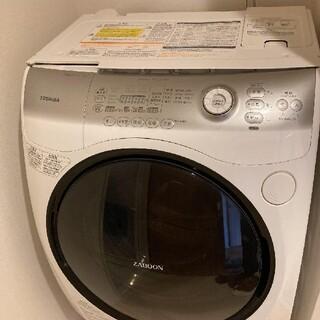 東芝 - 引取り限定 東芝ドラム式洗濯乾燥機 ZABOON TW-Z390L