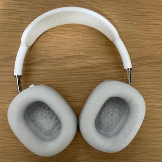 アップル(Apple)のairPods Max silver(ヘッドフォン/イヤフォン)