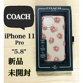 コーチ(COACH)の新品 コーチ iPhone11 Pro 5.8 ケース 専用 COACH 花柄 (iPhoneケース)