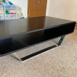 ローテーブル  スタイルプロポーザ おしゃれブランド 木製(ブラック)(ローテーブル)
