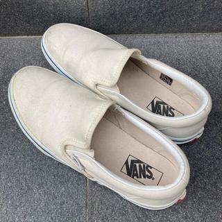 VANS - vans スリッポン 24.5cm【箱あり】