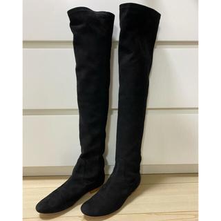 ダブルスタンダードクロージング(DOUBLE STANDARD CLOTHING)の【ミュウ様専用】ダブルスタンダードクロージング/スエードニーハイブーツ(ブーツ)