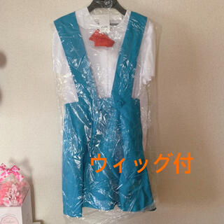 ボディライン(BODYLINE)の綾波レイ 制服 コスチューム ウィッグ付(衣装)